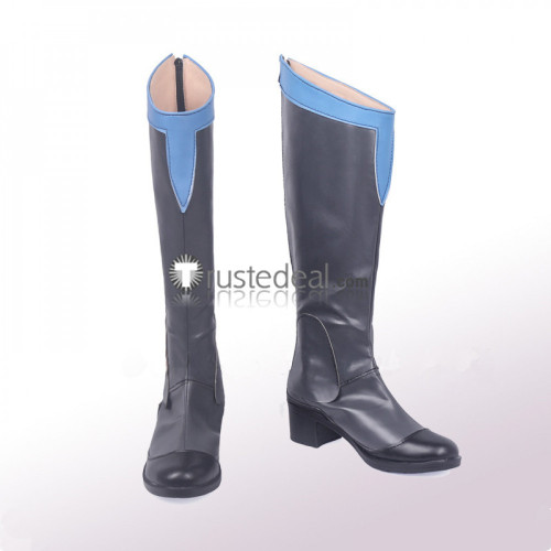 Voltron Legendary Defender Prince Lotor Gray Cosplay Boots Shoes
