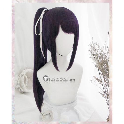 Kakegurui Sayaka Igarashi Dark Purple Cosplay Wig