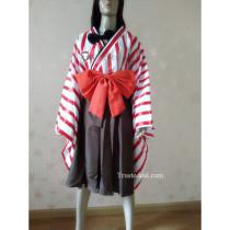 Pokemon Gijinka Ninetales Kimono Cosplay Costume
