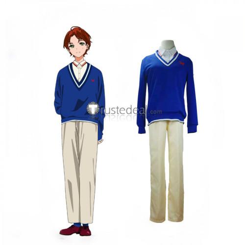 Wonder Egg Priority Ai Ohto Momoe Sawaki Yellow Blue Cosplay Costumes