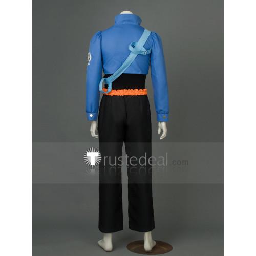 Dragon Ball Z Trunks Blue Black Cosplay Costume