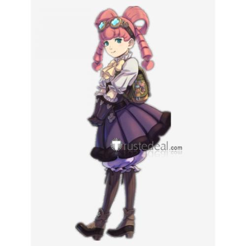 Dai Gyakuten Saiban Naruhodou Ryounosuke no Bouken Iris Watson Steampunk Lolita Dress Cosplay Costume
