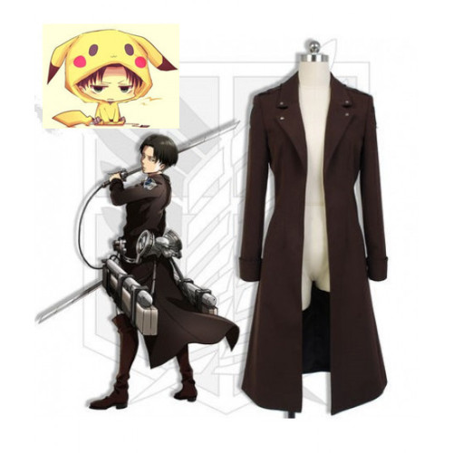 Attack on Titan Shingeki No Kyojin The Wings of Counterattack Levi Rivaille Cosplay Costume