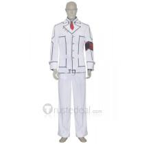 Vampire Knight Night Class Boy Kaname Kuran White Academy Cosplay Costume