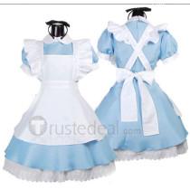 Alice in Wonderland Alice Blue Cosplay Costume