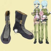 Sword Art Online 2 GGO Sinon Cosplay Boots Shoes