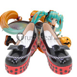 Vocaloid Trick or Miku Halloween Cosplay Shoes Boots