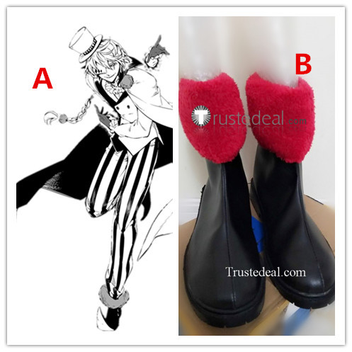 Bungou Stray Dogs Manga Nikolai Gogol Cosplay Shoes Boots