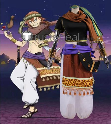 Bungou Stray Dogs Aladdin Chuuya Nakahara Cosplay Costume