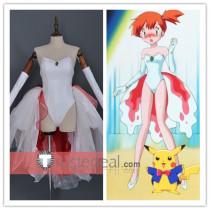 Pokemon Kasumi Misty Goldeen Dress Swimsuit Cosplay Costume