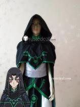 YuGiOh 5D's Misty Tredwell Misty Lola Black Green Cosplay Costume