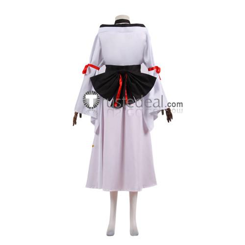 Fairy Tail Ikaruga White Cosplay Costume
