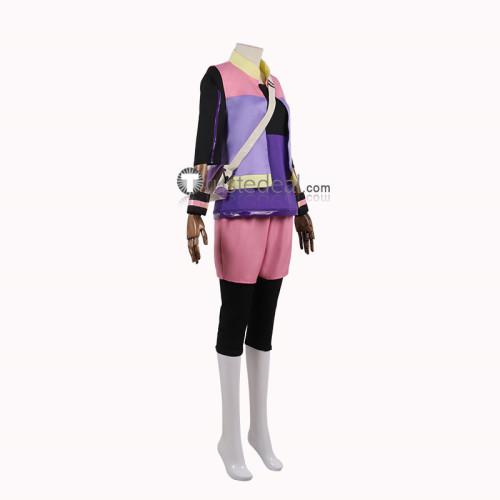 Pokemon Snap Rita Purple Cosplay Costume