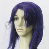 Code Geass Cecile Croomy Puprle Cosplay Wig