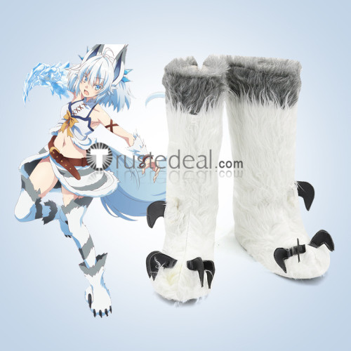 Kaiyari Kaifuku Jutsushi no Yarinaoshi Redo of Healer Keyaruga Keyaru Freia Flare Setsuna Norn Clatalissa Jioral Cosplay Shoes Boots