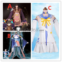 Genshin Impact Zhongli Genderbend Princess Mimi Barbara Bikini Cosplay Costumes