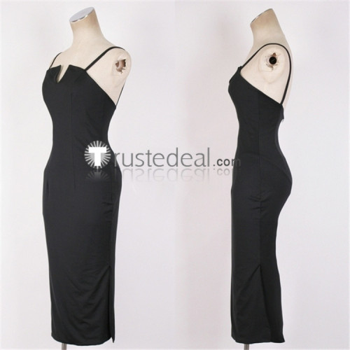 FullMetal Alchemist Lust Black Dress Cosplay Costume 2