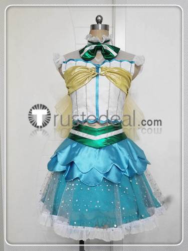 Love Live Sunshine Aqours Koi ni Naritai AQUARIUM Yoshiko Ruby Chika Dia Riko Kanan Mari Cosplay Costumes 2