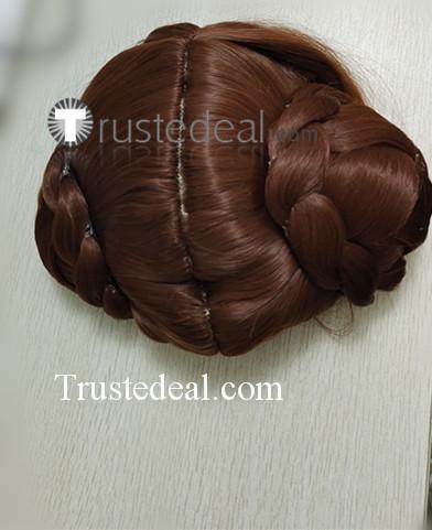 Street Fighter CHUN LI Black Brown Cosplay Wigs