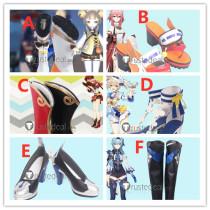 Genshin Impact Yae Miko Eula Yanfei Yaoyao Barbara Cosplay Shoes Boots