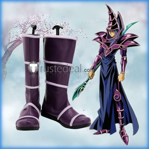 YuGiOh Dark Magician Dark Paladin Roboppy Cosplay Shoes Boots