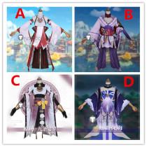 Genshin Impact Baal Raiden Shogun Yae Miko Kujou Sara Sangonomiya Kokomi Cosplay Costumes