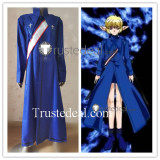 Tokyo Mew Mew Masaya Aoyama Blue Knight Blue Cosplay Costume