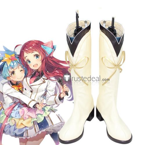 Zombie Land Saga Sakura Ai Saki Yugiri Lyli Tae Junko Franchouchou Idols Ending Cosplay Shoes Boots
