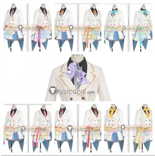 Zombie Land Saga Sakura Ai Saki Yugiri Lyli Tae Junko Franchouchou Idols Ending Cosplay Costumes