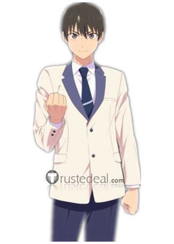 Kanojo mo Kanojo Girlfriend Girlfriend Mukai Naoya School Boy Uniform Cosplay Costume