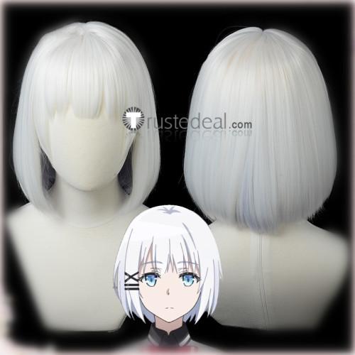 Tantei wa Mou Shindeiru The Detective Is Already Dead Siesta White Cosplay Wig