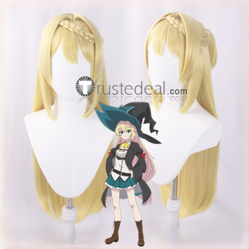 Slime Taoshite 300-nen I've Been Killing Slimes for 300 Years and Maxed Out My Level Azusa Aizawa Blonde Cosplay Wig