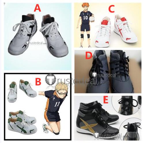 Haikyuu High School Volleyball Club Shoyo Hinata Tobio Kageyama Cosplay Shoes Boots