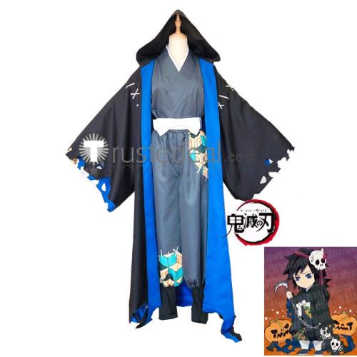 Demon Slayer Kimetsu no Yaiba Shinobu Kochou Giyu Tomioka Halloween Cosplay Costumes
