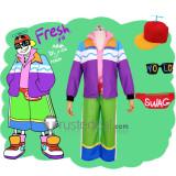 Undertale Fresh!Sans Halloween Cosplay Costume