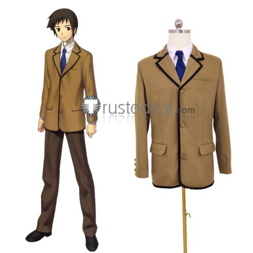 Mahou Tsukai no Yoru Soujurou Shizuki School Boy Uniform Cosplay Costume