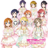 Love Live Muse's Third Years Flower Festival Honoka Nozomi Tojo Kotori Minami Hanayo Koizumi Cosplay Costumes