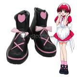 Tokyo Mew Mew Ichigo Momomiya Mew Strawberry Masaya Aoyama Blue Knight Blue Red Cosplay Boots Shoes