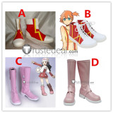 Pokemon Misty Kasumi Dawn Cosplay Shoes Boots