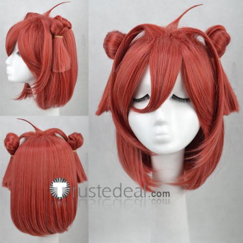 YuruYuri Akari Akaza Chinatsu Yoshikawa Pink Ponytails Cosplay Wigs