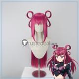 Yes! Pretty Cure 5 Cure Dream Yumehara Nozomi Dark Dream Long Red Pink Styled Cosplay Wig