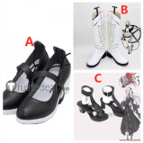 Drakengard 3 Rose Zero One NieR Re[in]carnation Reincarnation Dragoon Zero Cosplay Shoes Boots