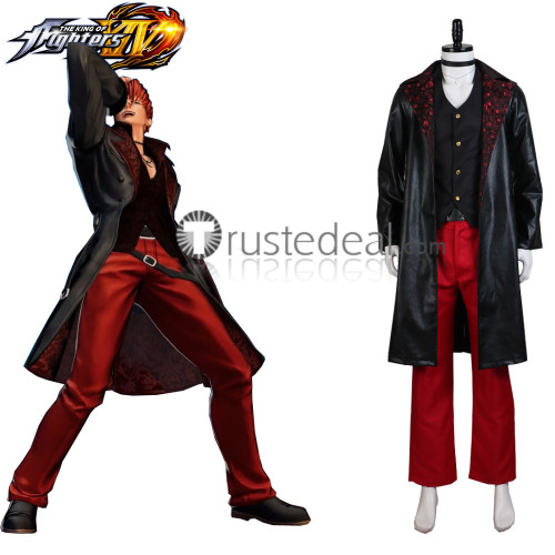 The King of Fighters 15 XV Iori Yagami Cosplay Costume