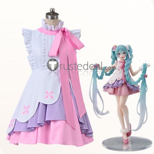 Vocaloid Hatsune Miku Rapunzel Version Wonderland Figure Cosplay Costume