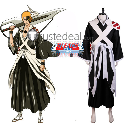 Bleach The Thousand Year Blood War Arc Ichigo Kurosaki Cosplay Costume