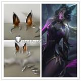 League of Legends LOL Ahri Coven Ears Fingernaisl Props