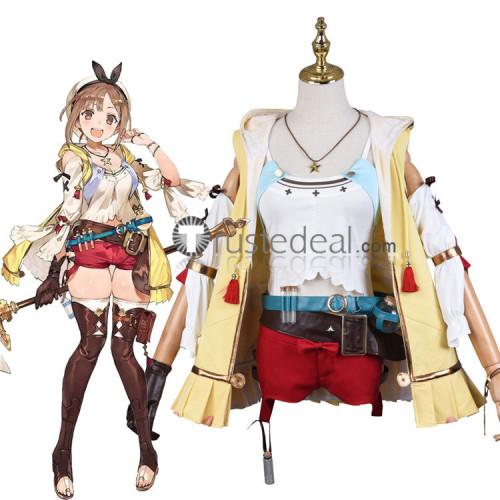 Atelier Ryza Ever Darkness & the Secret Hideout raizarin Reisalin Ryza Stout Cosplay Costume