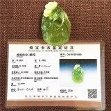 Natural green jade pendant hand carved elephant pendants necklace top brand men women real jade jewelry jadeite jade necklace
