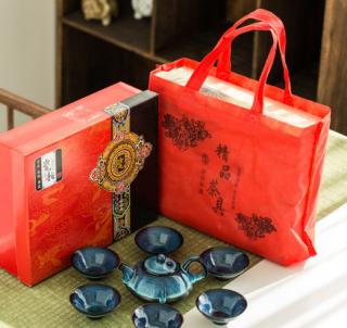 Chinese Hand-built teacup Tea Set in Jingdezhen