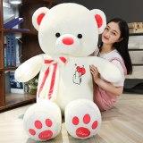 Cute Love Big Huggable Teddy Bear Dolls Creative Soft Cushion Plush Toy Stuffed Animal Room Decor Birthday Gift Accompany Baby
